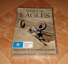 History Of The Eagles DVD Region ALL(China (Mainland))