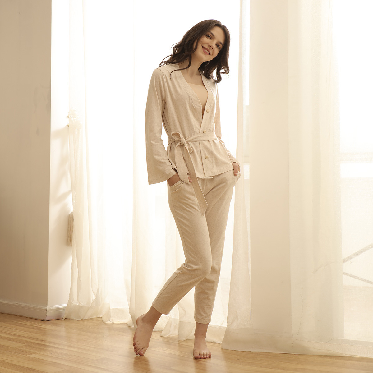 Online kopen wholesale vrouwen pyjama knit uit china vrouwen ...