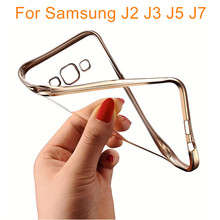 Samsung J Series Royal Plating Gilded TPU Soft Silicone Phone Case Cover Galaxy J2 J5 J7 J320F Back - Ant (Hongkong store Electronic Store)