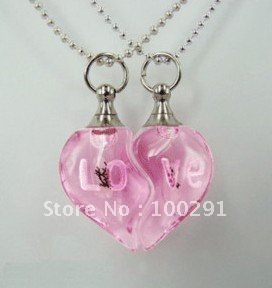 FreeShipping!!! HOTSALE 500 pcs pink DIY accessories little glass bottles perfume bottles for lovers(China (Mainland))