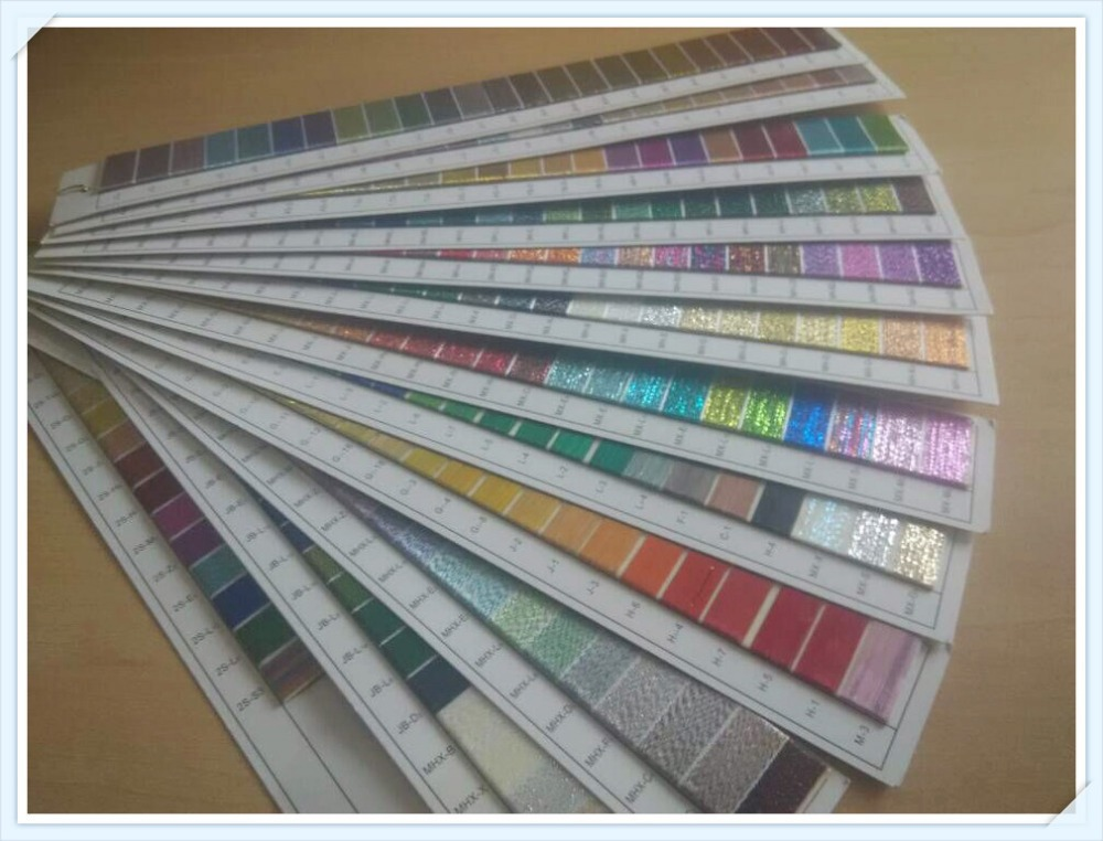 Popular metallic color chart buy cheap