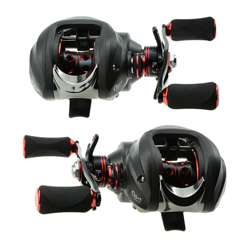 DMK 15 and 1 BB 7 0 1 Baitcasting Fishing Reel Bait Casting Baitcast Dual Brake Right<br><br>Aliexpress