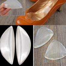 Silicone Gel Arch Support Shoe Inserts Foot Insole Wedge Cushion Pads Pain  09B7(China (Mainland))