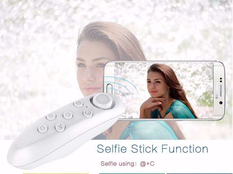 image for Bluetooth Remote Control Wireless Selfie Shutter Game Console Gamepad