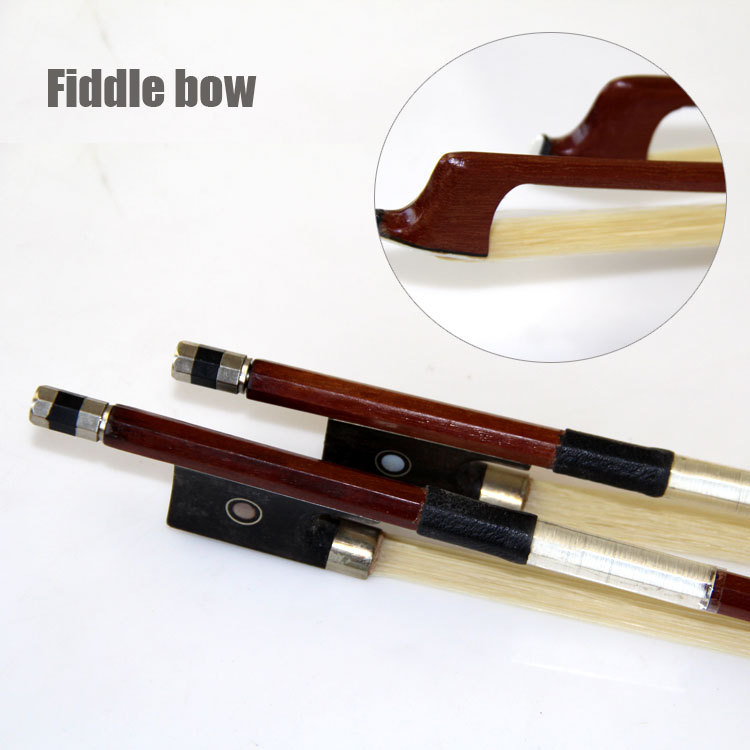 FREE SHIPPING violin Part High-Quality Violin/Fiddle Bow 4/4 3/4 1/2 1/4 1/8 1/10 1/16  Size Available<br><br>Aliexpress