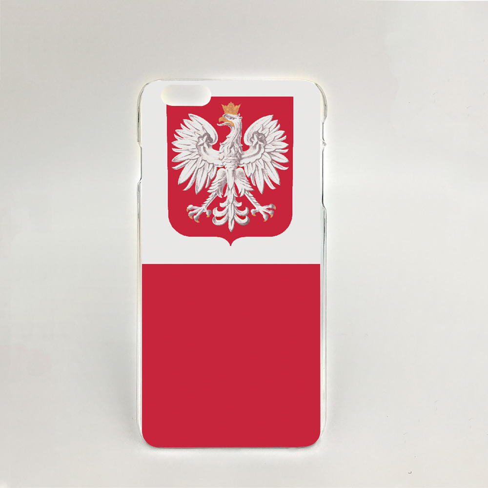 09337 for Poland National Flag Hard transparent clear cell phone Cover Case for iPhone 4 4S 5 5S 5C 6 6S Plus 6SPlus(China (Mainland))