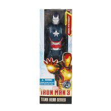 30 Cm Marvel Avengers Đồ Chơi Thanos Hulk Buster Người Nhện Sắt Người Đội Trưởng Mỹ Thor WOLVERINE Đen Panther Hành Động Hình Búp Bê(China)