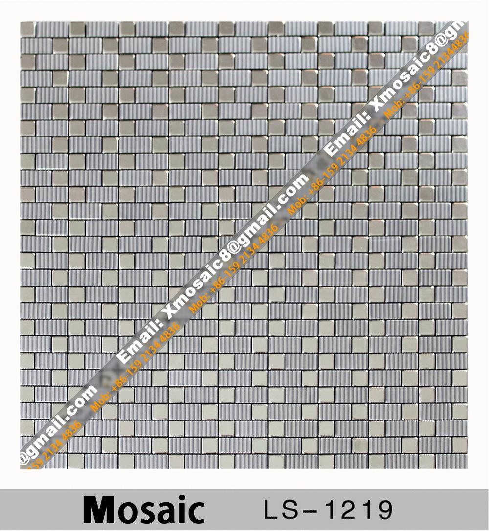 Здесь можно купить  Aluminum Wall Mosaic #LS-1219 Aluminum Wall Mosaic #LS-1219 Строительство и Недвижимость