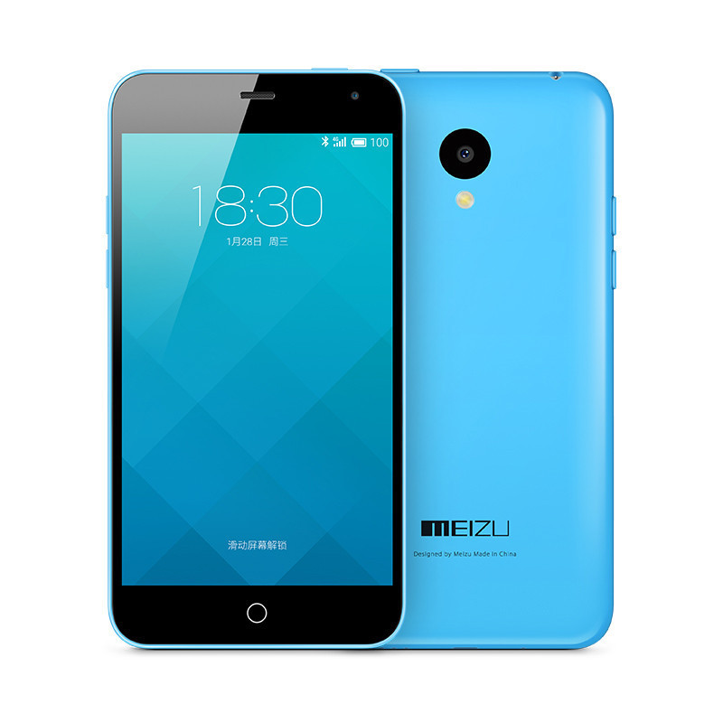 Meizu M1 MeiLan Unlocked Cell Phone 8GB Storage Cheap selling GSM smartphone Blue&White In stock(China (Mainland))