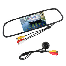 """Universal Car Rear View Camera 170 Degree Angle Reverse Camera with 4.3"""" TFT LCD Mirror Monitor Parking Assistance System(China (Mainland))"""