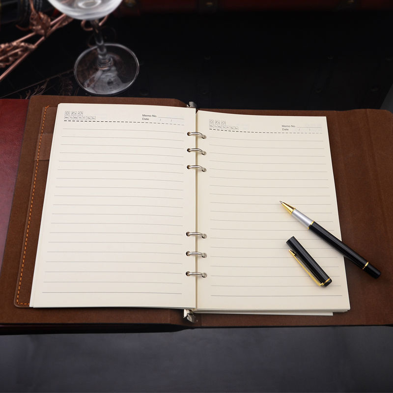Business Notebooks Leather Notebook Business Planner