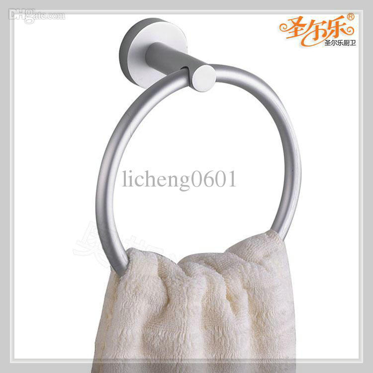 space aluminum towel ring holder waterfall glass wall faucet handle mixer(China (Mainland))