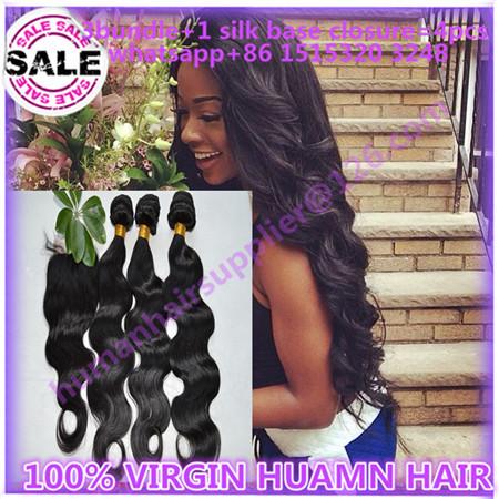 brazilian hair with closure silk base closure with bundles cara hair silk base closure and bundles cheap brazilian humen hair <br><br>Aliexpress