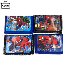 Fashion Cartoon Spider Man Coin Purse Children Zip Change Purse Wallet Movie Kids Girl Women Pouch Bolsa For Gift(China (Mainland))