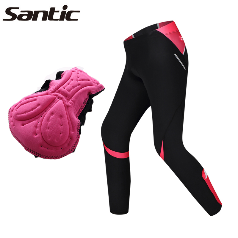 Santic Cycling Pants Womens Anti-weat Comfort Sports Clothing Cycling Jersey 4D Pad Bike Bicycle Pants Tights Pantalon Ciclismo<br><br>Aliexpress
