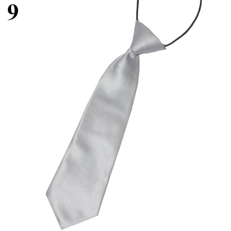 Мода мальчиков сплошной цвет костюма галстук