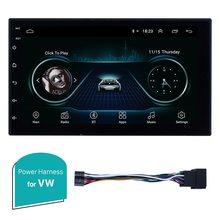 Seicane Универсальный 2Din gps автомобильный стерео радио Android 8,1 7 дюймов мультимедийный блок плеер для Volkswagen Nissan hyundai Kia toyata(China)