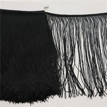 10yard/lot multicolor 30CM Long Polyester Tassel Fringe Trim African Lace Ribbon Sewing Latin Dress Garment Curtain Accessories(China (Mainland))