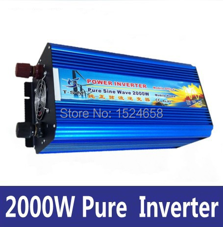 12v 230v pure sine inverter 2000w, solar power inverter(China (Mainland))