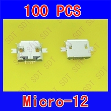 Buy Computer connector MICRO USB charging port mobile phone tablet android 5PIN Long Fixed foot SOP-2 Sinking 1.0mm Nokia for $9.70 in AliExpress store