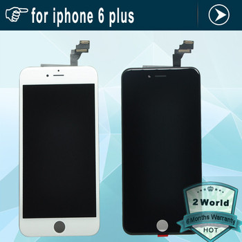 For iphone6 / 6plus Replacement full screen for iPhone 6 / 6 plus lcd display with touch digitizer 6g assembly + film + tools