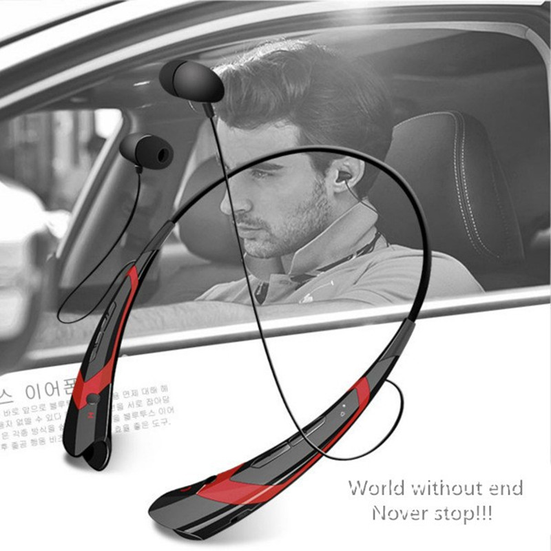 Superior quality sports wireless bluetooth headphone around the neck design bluetooth sports earphone with microphone for phone(China (Mainland))