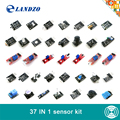 Free Shipping 37 in 1 Sensor Kit For Arduino Starters keyes brand high quality Works with