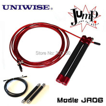 Speed Jump rope UIC-JR06, ball bearing Metal handle, Stainless steel cable(China (Mainland))
