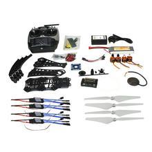 F14893-M DIY RC Drone Quadrocopter Full Set X4M380L Frame Kit APM 2.8 GPS AT9 TX