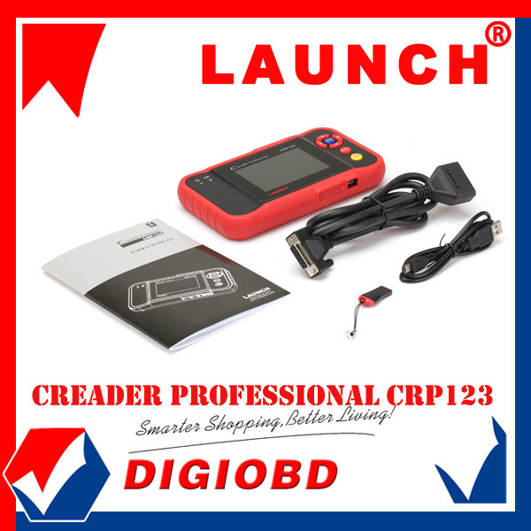 2015 New Release LAUNCH CRP123 Auto Code Reader Scanner Update via Internet LAUNCH Creader Professional 123 Car Scan Tool