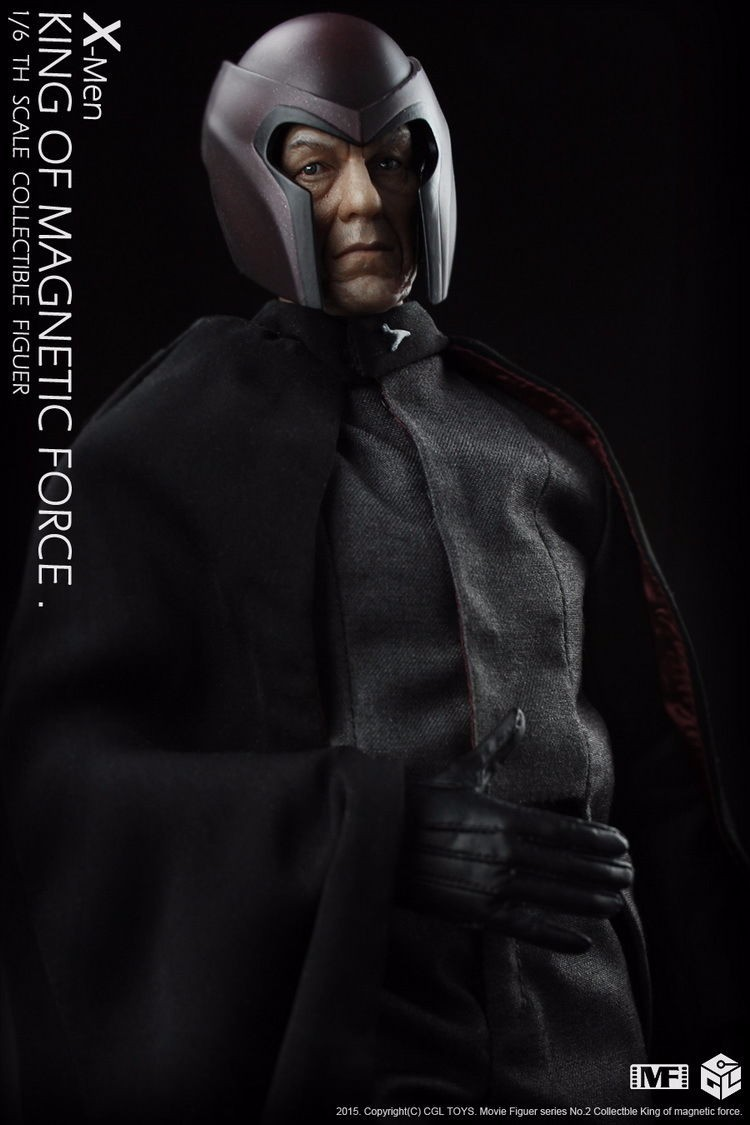 CGL CGLTOYS MF02 1/6 Scale THE VARIANT X-Males Mutant Magneto Motion Determine W Field In Inventory Collectible Motion Determine