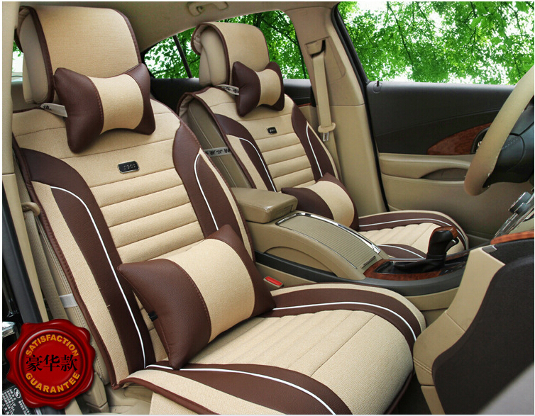 4 colors 5 seats car wholesale manufacturers flax car seat cushion health vehical seat cover in. Black Bedroom Furniture Sets. Home Design Ideas