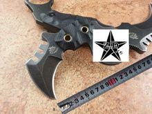 La alta calidad de una supervivencia táctica del cuchillo AUS-8 caza que acampa cuchillo F1