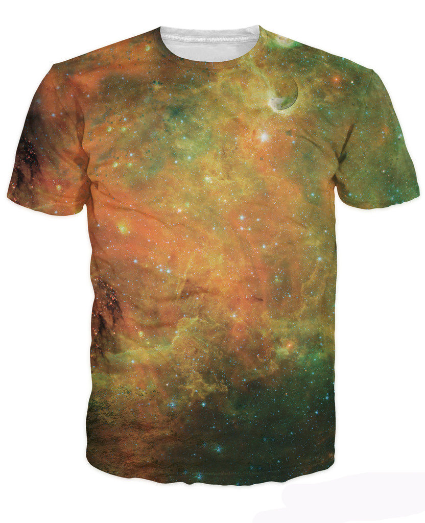 2015 new arrive 3d fashion clothing women men t shirt for Outer space clothing