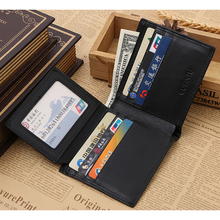 Buy Bank ID Business Credit Card Holder Auto Car Document Passport Cover Men Travel Rfid Wallet Bag Purse Porte Carte Cardholder for $8.98 in AliExpress store