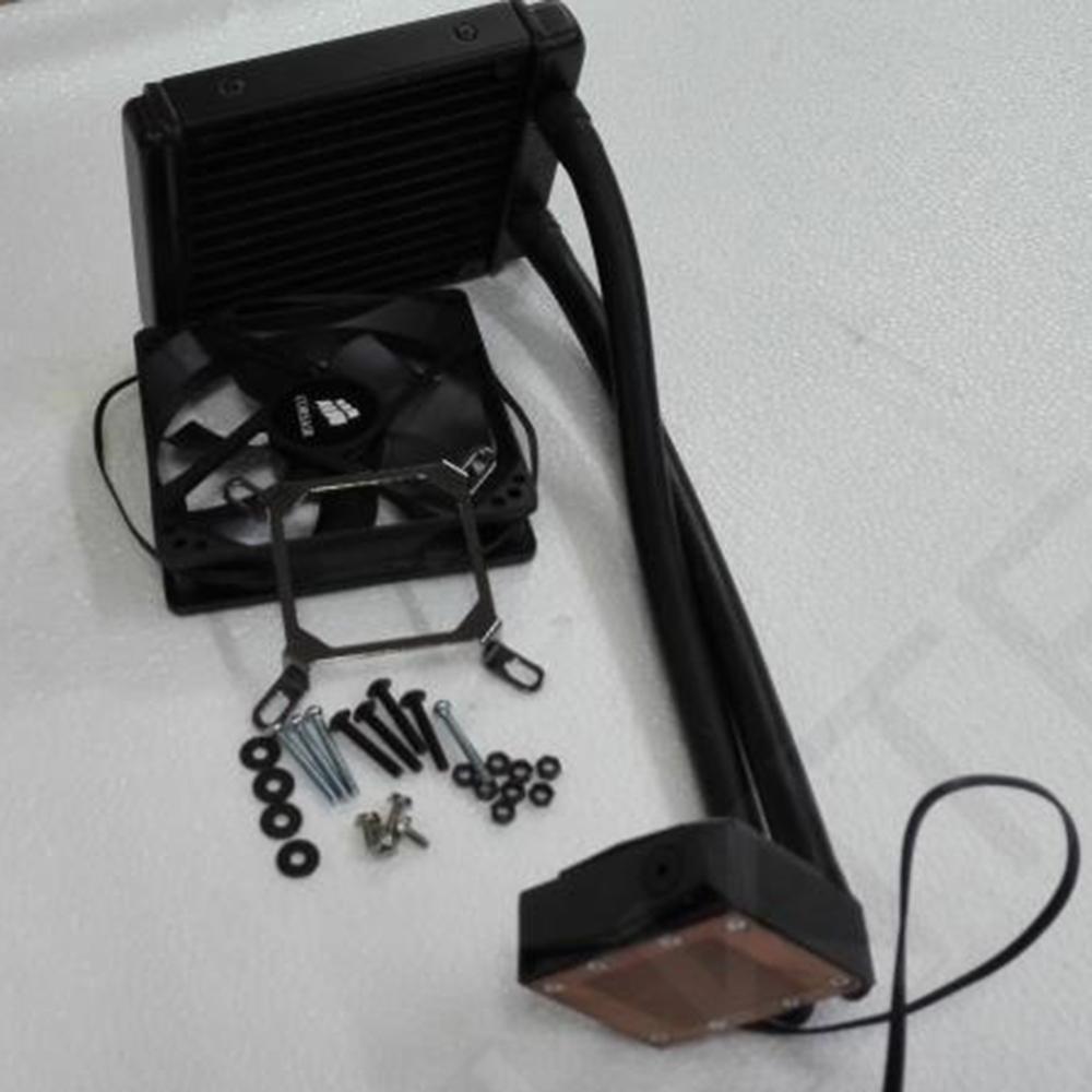 USED H60 Water Cooling CPU Cooler Copper Waterblock Liquid Cooler For LGA115x/1366/775 LGA775 LGA1150 LGA1155 AM2 AM3 AM3+ AM2+(China (Mainland))