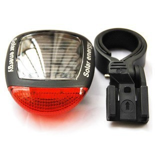 Bicycle LED solar rear light 1 pc/lot - Shopping Goods store