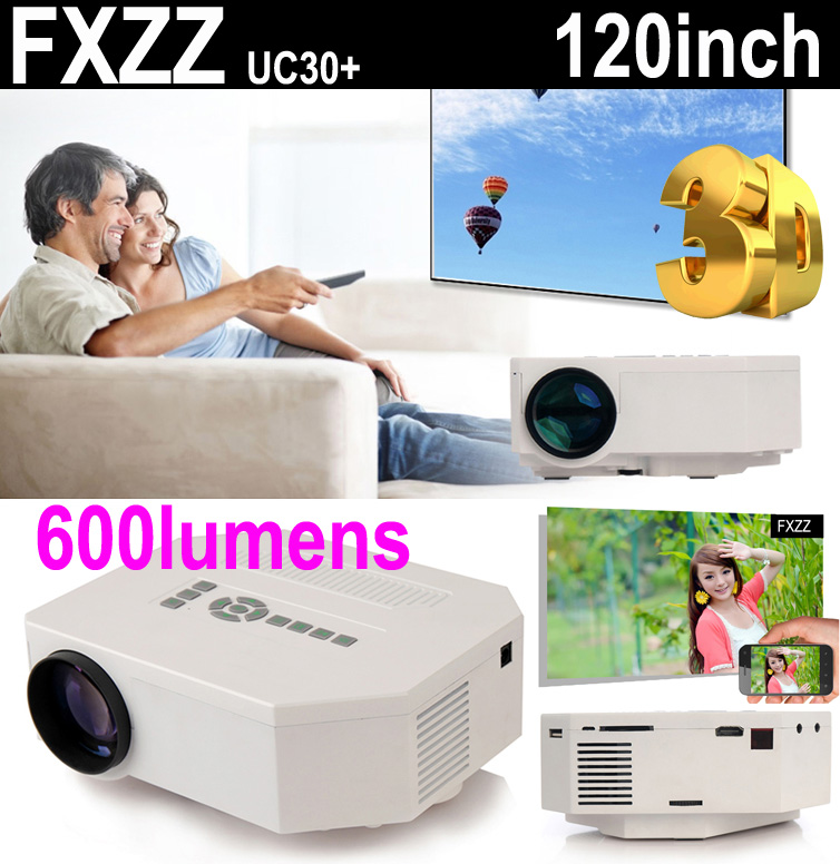 New 1080P Mini Multimedia 3D LED Projector Home Education Cinema Video AV TV VGA HDMI USB TF Free Shipping for Russia Brazil(China (Mainland))