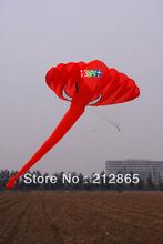 Envío gratis! 3.8 m sola línea del truco el elefante poder Sport Kite / tres colores