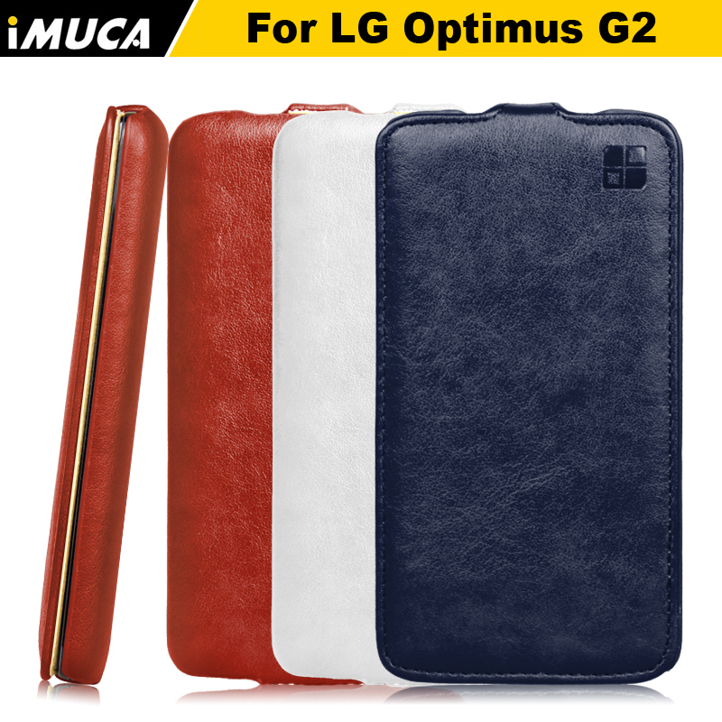 Funbda For lg g2 case IMUCA brand cell phone cases luxury Vertical Leather Flip Case Cover for LG optimus G2 D800 D802 carcasa(China (Mainland))