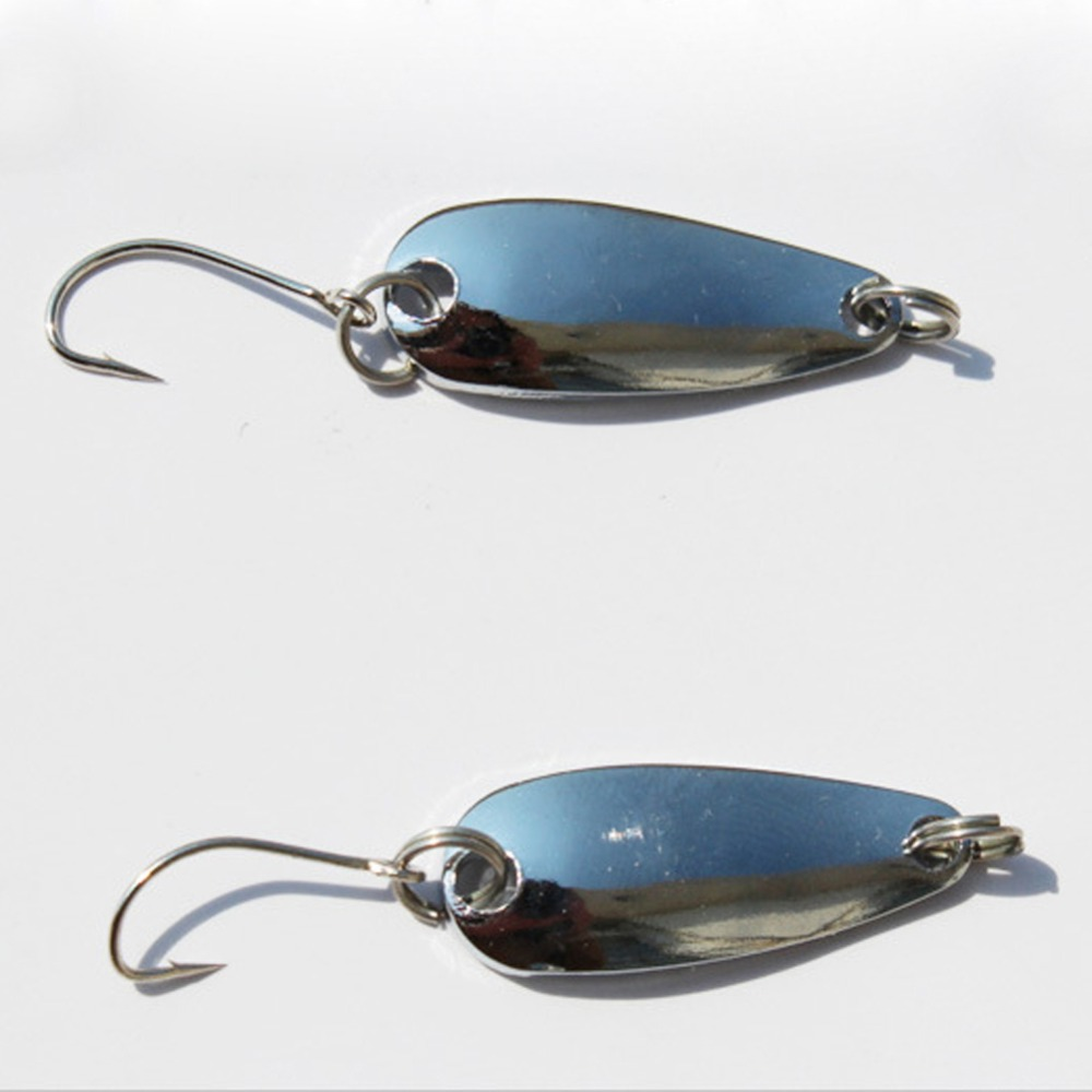 Hot sale new arrival 10pcs lot spinner spoon fishing for Spoon fishing for bass