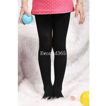 New Fashion Kids Child Girls Toddler Pantyhose Stockings Skinny Cute Velvet Leggings 11 Colors 45cm 50cm