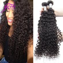 Brazilian Deep Wave Curly Virgin Hair 4pcs Lot Mink Brazilian Virgin Hair Kinky Curly Rosa Hair Company Human Hair Weave Bundles(China (Mainland))