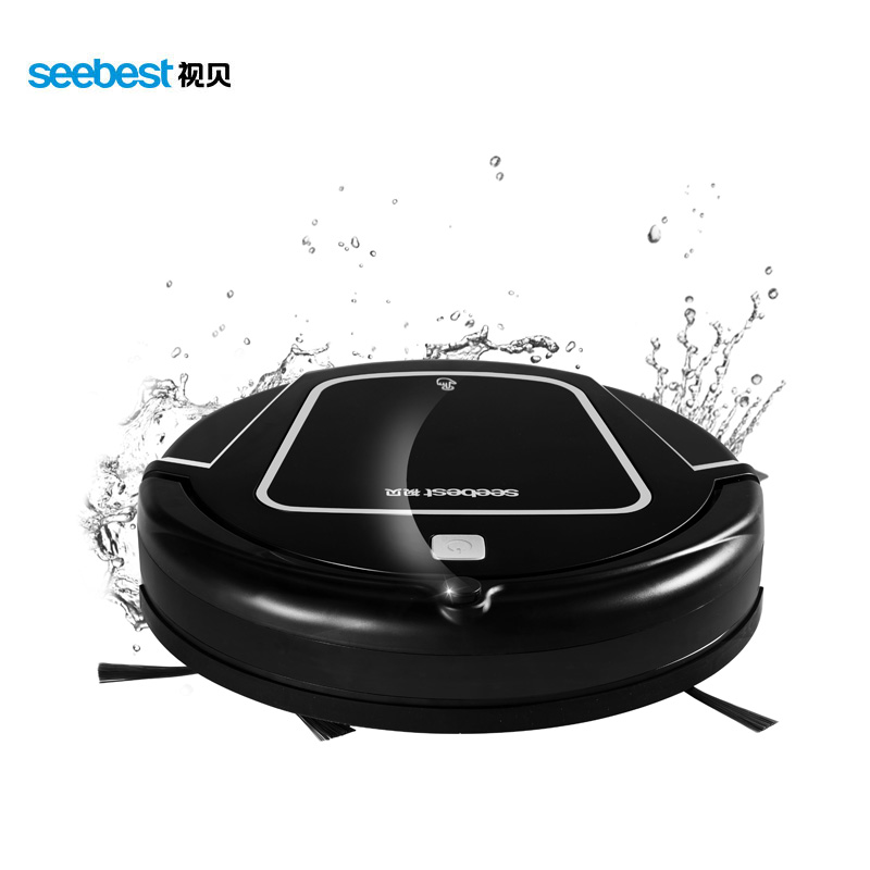 Clean Robot Aspirator with Wet/Dry Mop Water Tank, Time Schedule, Auto Recharge Smart Cleaner, Seebest D730 MOMO 2.0(China (Mainland))