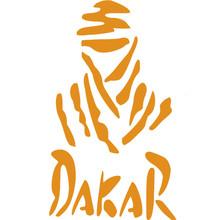 24*14CM Funny Dakar Rally Car Sticker Dhaka Waterproof Vinyl Decals Car Styling 2 Colors