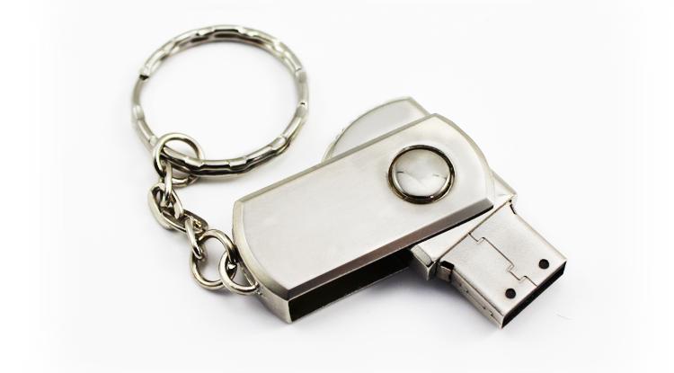 64GB USB Flash Drive Memory Stick 8GB 16GB 32GB USB Pendrive Mini 360 Degree Rotate Metal USB Pen Drive External Storage For PC(China (Mainland))