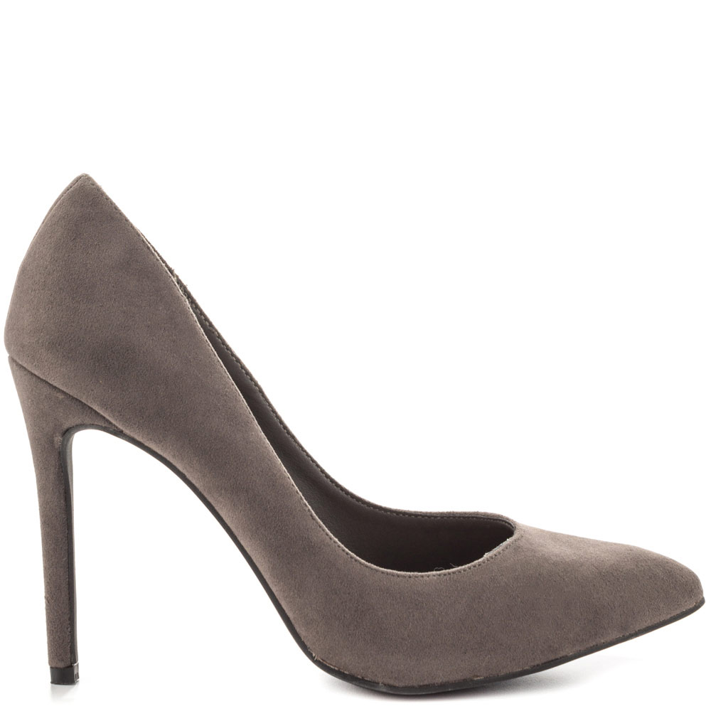 Grey Heels For Women