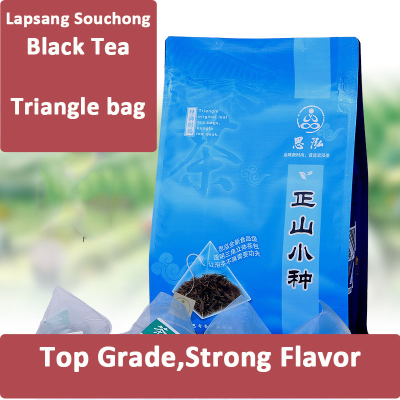 75g 30 Triangle bags Chinese Lapsang Souchong Wuyi Mountain Black Tea Protect Stomach Slimming Lowering Blood Pressure SH13<br><br>Aliexpress