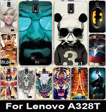 22 модель высокое качество мода окрашенные чехол Lenovo A328 A328T назад чехол для Lenovo A328 мобильного телефона чехол оболочки кожи