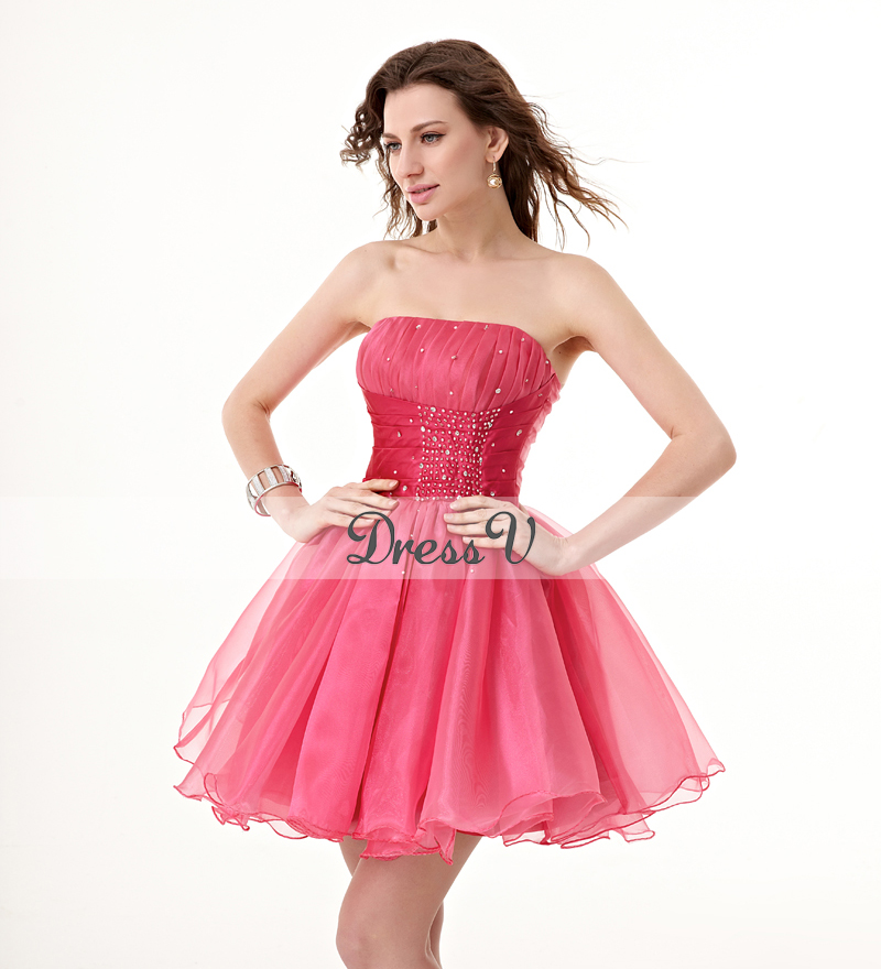 Cheap Pink Cocktail Dresses